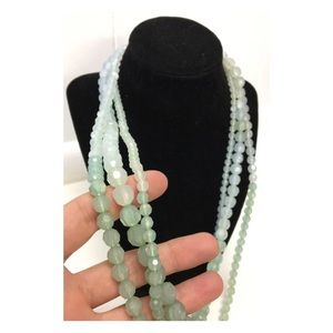 Beautiful Ombré Layered Necklace Ice Queen Vibe